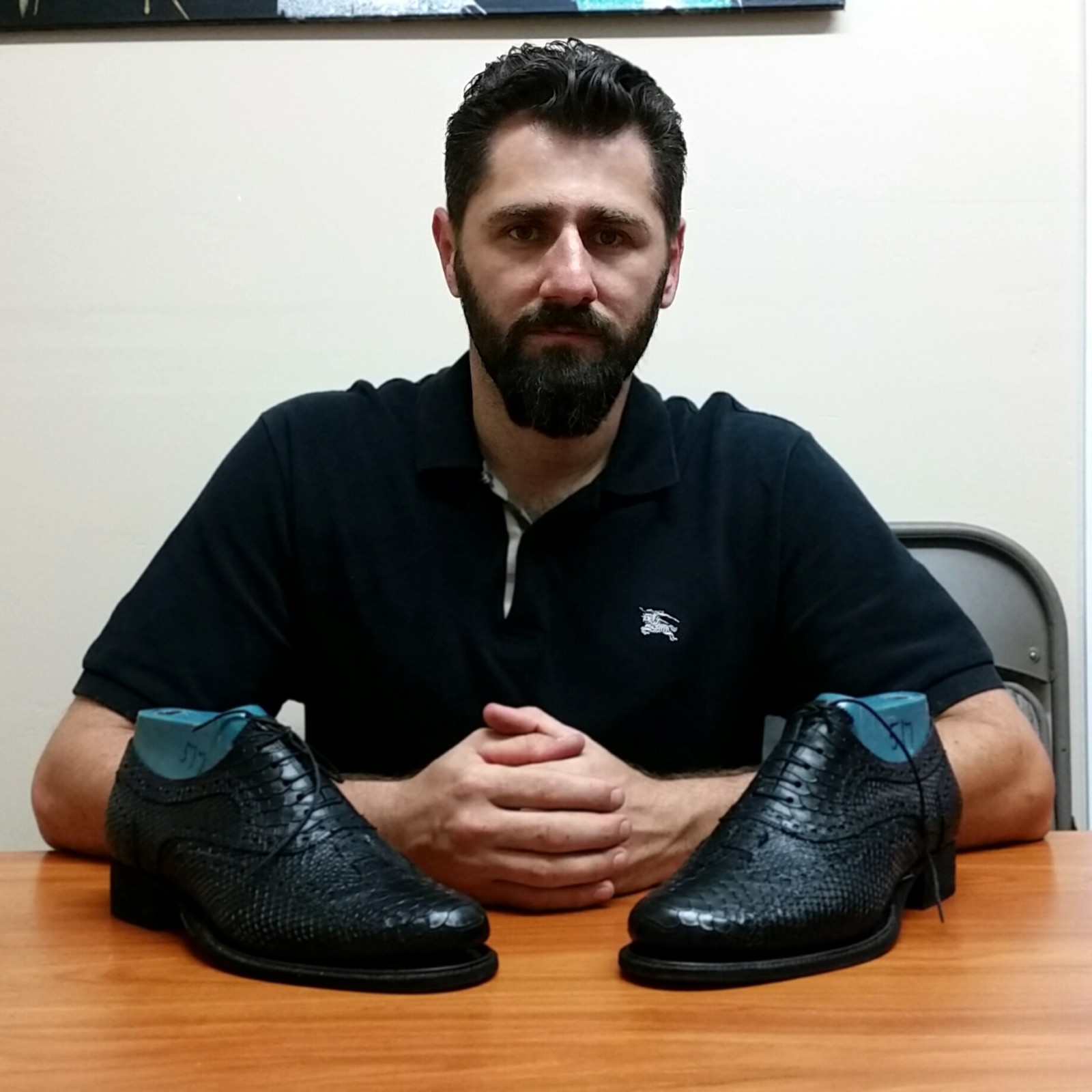 Vahan Kharazyan owner of crown dance shoes