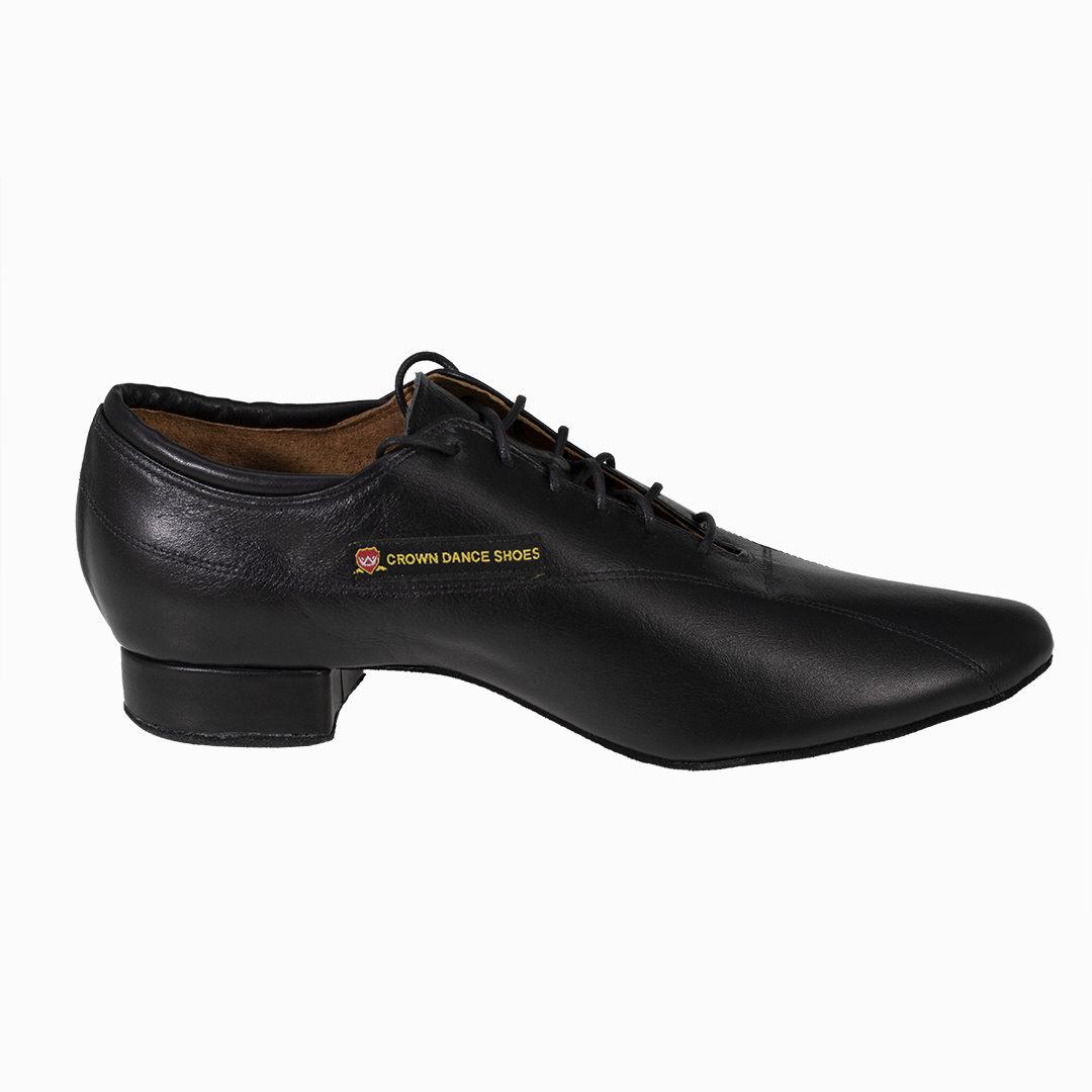 black dance shoes