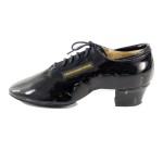 Men Latin patent leather dance shoes 2