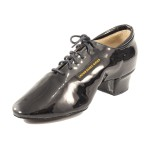 Men Latin patent leather dance shoes