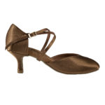 Women American smooth dance shoes 4203 bronze